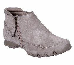 Skechers Zippiest  mid high top casual comfort bootie design  side zip for easy access relaxed fit  air cooled memory foam comfort insole 06.0