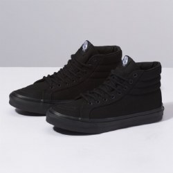 Vans Sk8-hi Slim Black black black Slim Sleek And Stylish04.5
