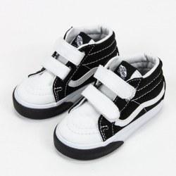 Vans Sk8-Mid Black White Color Block Toddlers Classic Vans07.0
