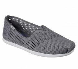 Skechers Plush Lite Peek Charcoal 34444L CCL06.0