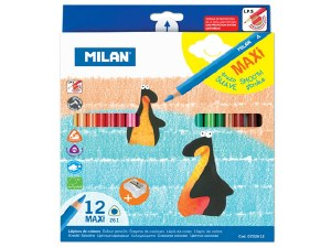COLOUR PENCILS 261 MAXI BOX12