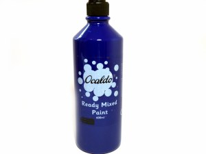 POSTER PAINT BLUE 600ML
