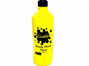 POSTER PAINT YELLOW 600ML
