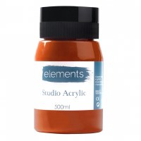 ACRYLIC 500ML ELEMENT B.SIENNA
