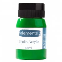 ACRYLIC 500ML ELEMENT C.GREEN