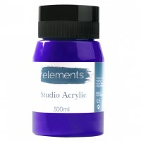ACRYLIC 500ML ELEMENT ULT.BLUE