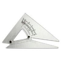 ADJUSTABLE SET SQUARE 10""