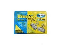 BINDER CLIPS 41MM 12PCS