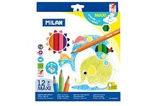 COLOUR PENCILS BOX 12 MAXI 241