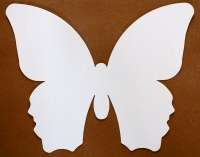 BUTTERFLY OFF WHITE PAPER 20PK