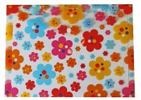 BUTTON WALLET FLOWERS