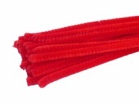 "CHENILLES RED 6MMX12"" 100PK"