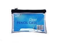 CLEAR PENCIL CASE LARGE