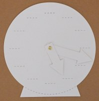 CLOCK FACE WITH HANDS 1 PACK