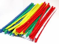 COLOURED PIPE CLEANERS 50PK