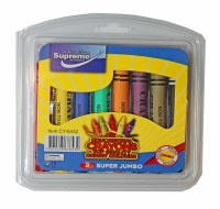 CRAYONS 24 ASSORTED COLOURS