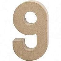 DECO NUMBER 9 H.24.5cm