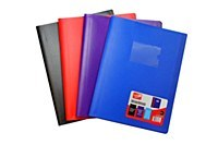 DISPLAY BOOK 80 POCKET RED