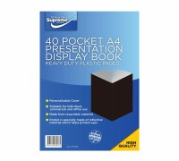DISPLAY BOOK A4 PRESENTION 40P