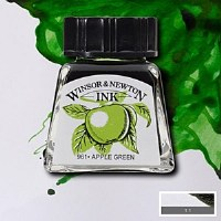 DRAWING INK APPLE GREEN 14ML