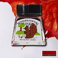 DRAWING INK BURNT SIENNA 14ML