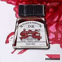 DRAWING INK DEEP RED 14ML