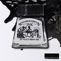 DRAWING INK INDIAN BLACK 14ML