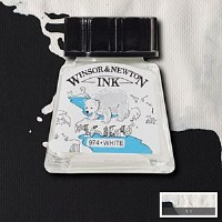 DRAWING INK WHITE 14ML