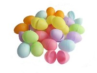 EGGS 24 ASSTD COLOURS 4.5cm