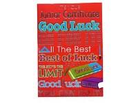 GOOD LUCK CARD JUNIOR CERT