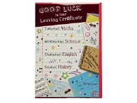 GOOD LUCK CARD LEAVING CERT