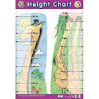HEIGHT GIRAFFE WALL CHART