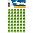 HERMA LABELS ROUND GREEN 12mm