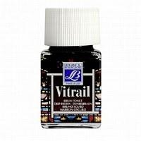 GLASS PAINT VITRAIL 50ML BROWN