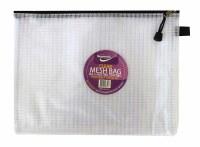 MESH BAG A4++ DOUBLE ZIP