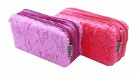 PENCIL CASE FLUFFY PINK