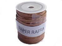RAFFIA PAPER ROLL COPPER