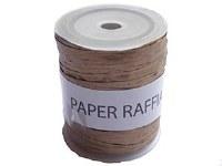 RAFFIA PAPER ROLL OLD GOLD