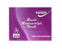MUSIC MANUSCRIPT 6 STAVE