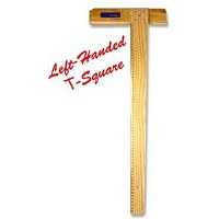 T SQUARE WOOD A2 LEFT HANDED