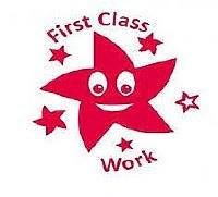 TEACHERS STAMP  FIRST CLASS WO