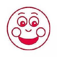 TEACHERS STAMP  SMILEY FACE