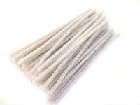 WHITE PIPE CLEANERS 100PK