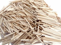 MATCHSTICKS NATURAL 2000PK
