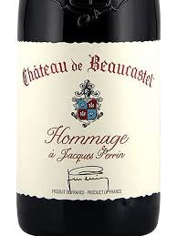 CH BEAUCASTEL CDP HOMMAGE750ML
