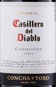 CONCHA Y TORO CARM DIABLO750ML