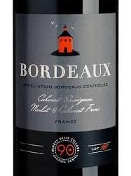 90PLUS BORDEAUX RED #161750ML