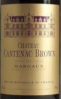 CH CANTENAC BROWN 750ML