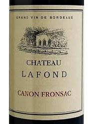 CH LAFOND CANON FRONSAC 750ML