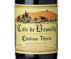 CH THIVIN COTE DE BROUILY750ML